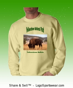 Save The Yellowstone Buffalo From Extinction Design Zoom