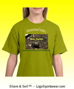 Box Turtle In Yellowstone Family T-Shirt Design Zoom