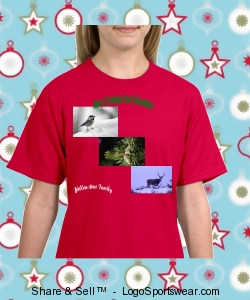 Yellowstone Family Christmas T-Shirt Design Zoom