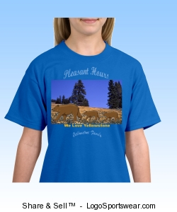 Pleasant Hours Yellowstone Family T-Shirt -- Both Sexes, All Ages and Sizes Design Zoom