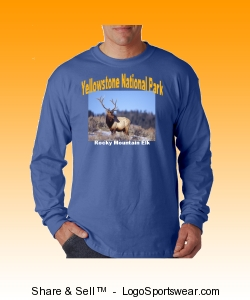Rocky Mountain Elk Design Zoom