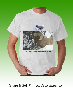 Yellowstone Bighorn Sheep Design Zoom