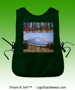 Yellowstone Camp Cook Apron Design Zoom